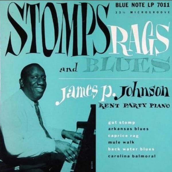 "James P Johnson ""Stomps Rags & Blues Rent Party Piano"" 1951"